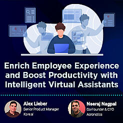 Enrich Employee Experience and Boost Productivity with Intelligent Virtual Assistants-sml