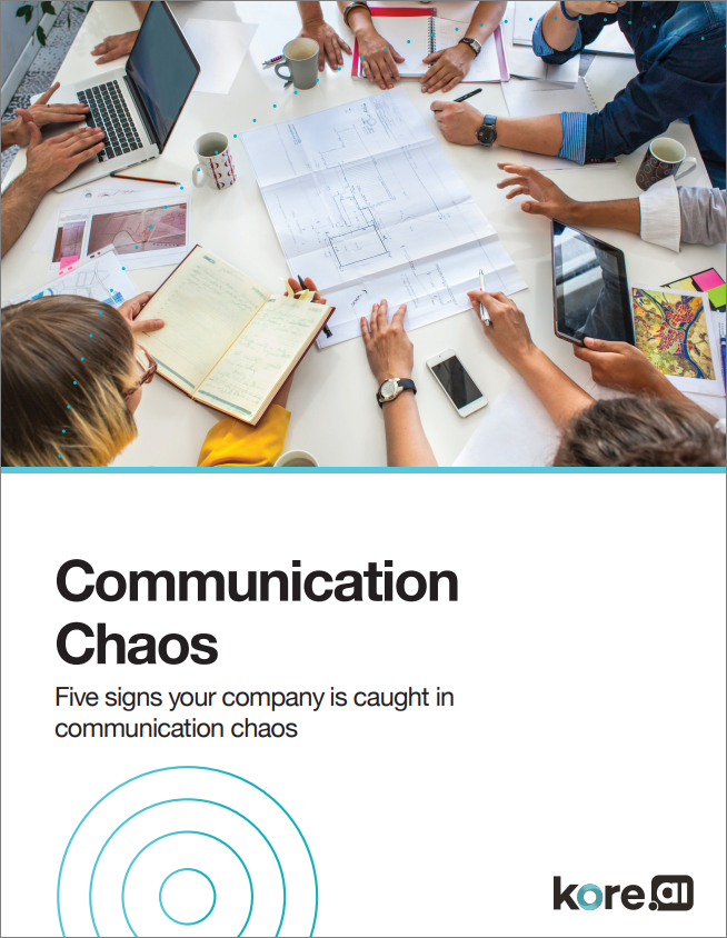White Paper: Five Signs your Company is Caught in Communication Chaos
